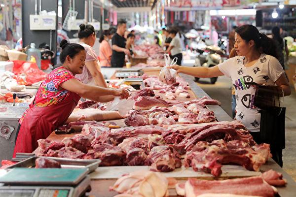 淡季逆勢上漲 大陸7月豬肉批發價飆升101%