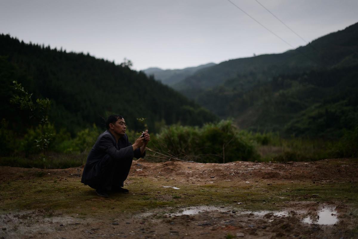 中共早前隱瞞中共肺炎疫情,令疫情擴散,中共封城應對,企業預計新年後農民工返工數量將大減。圖為湖南農村。(AFP/AFP via Getty Images)