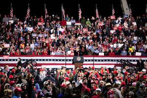 特朗普將再赴佐州 為共和黨聯邦參議員決選助陣