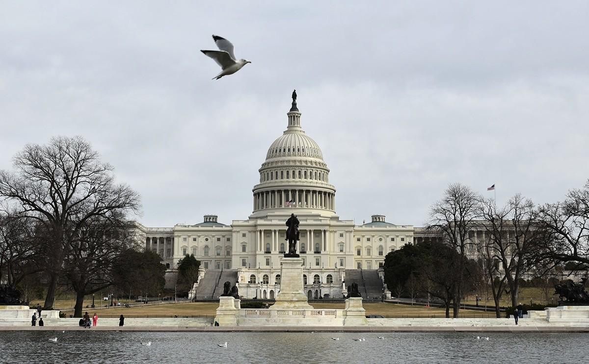 美國政府正在籌備一個新的普通話廣播網絡,以便對抗中共侵蝕美國軟實力的行動。(Photo by Mark RALSTON / AFP)(Photo by MARK RALSTON/AFP via Getty Images)