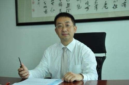 原重慶富華典當公司董事長李懷慶。(受訪人提供)。