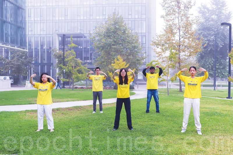 加州大學聖地亞哥分校大學生:法輪大法伴隨人生