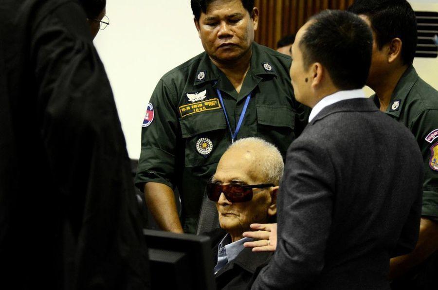 歷史性判決 紅色高棉2頭領被判種族滅絕罪