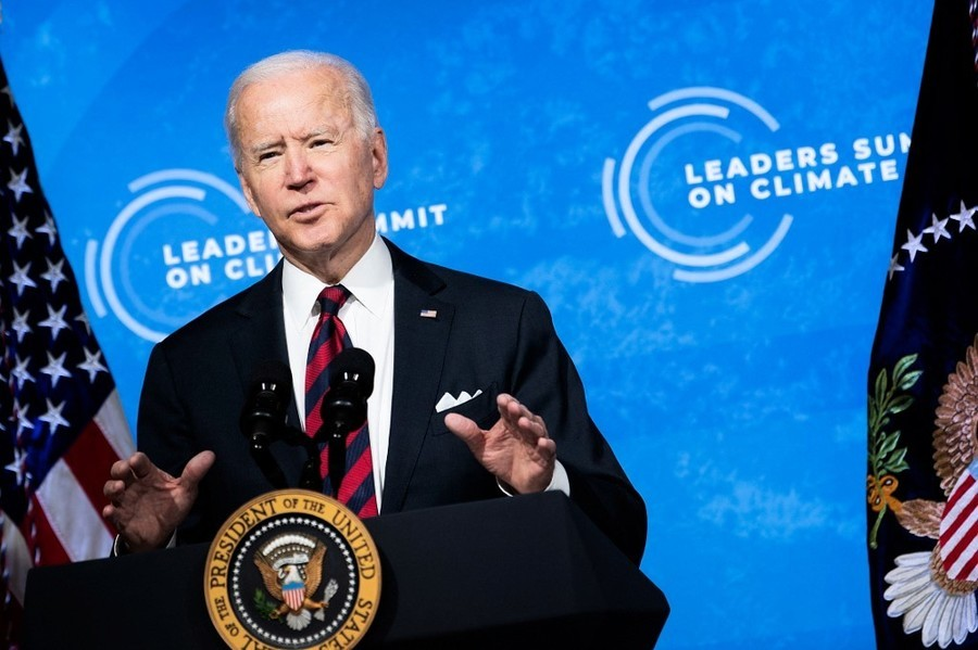 氣候峰會 拜登宣佈美國2030減排五成
