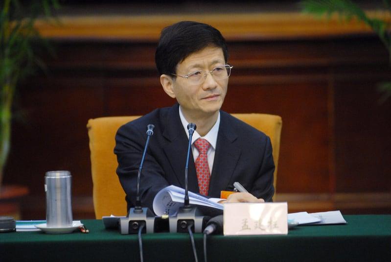 上海幫要員、中共前政法委書記孟建柱(圖)的兩名秘書先後落馬。(大紀元資料室)