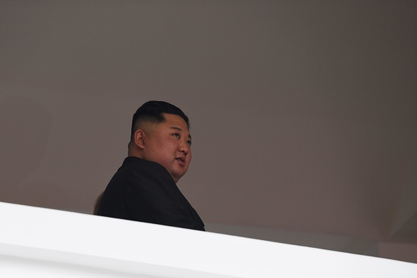 圖為金正恩。(STR/ KCNA VIA KNS/AFP)