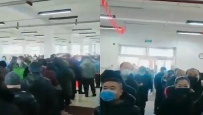 滿洲里疫情嚴重 單元門被封死 還有高風險區