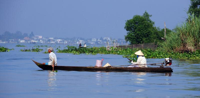 圖為位於東南亞地區的湄公河(Mekong River)。(AFP)