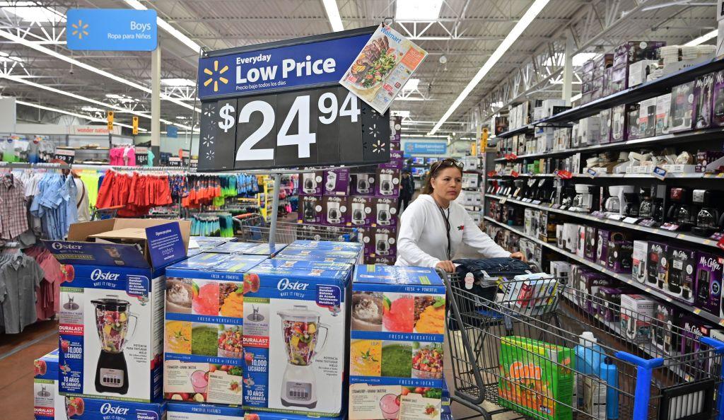 美國2021年5月份的CPI(消費者物價指數)出現了近13年來的最大漲幅。圖為沃爾瑪超市。(FREDERIC J. BROWN/AFP via Getty Images)