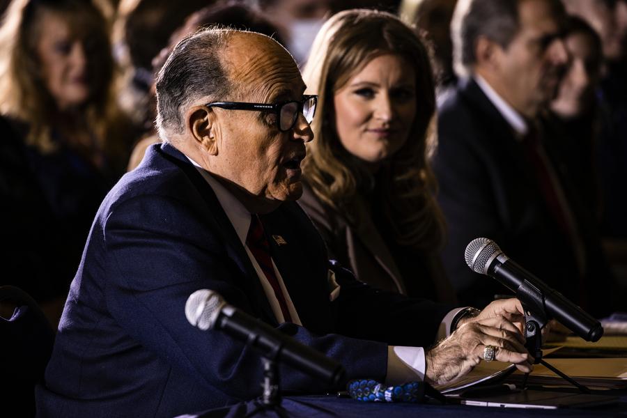 朱利亞尼:亞利桑那州議會應另擇選舉人