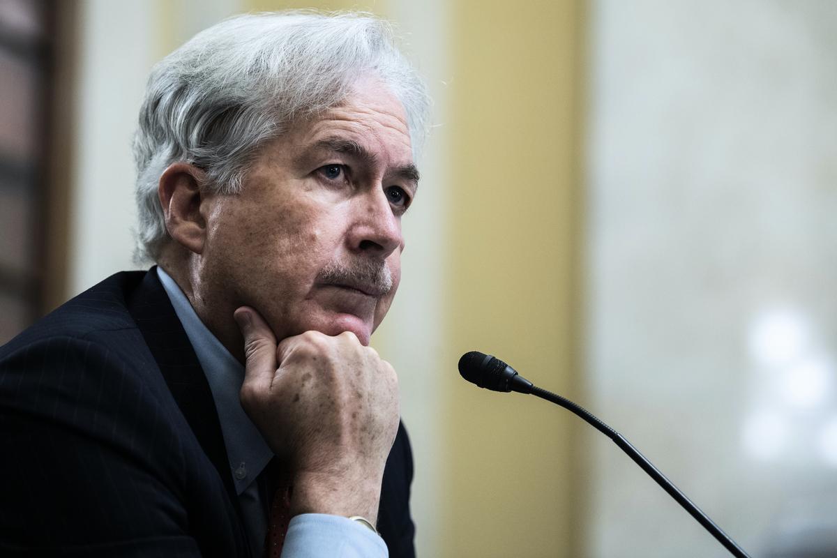 中央情報局局長威廉‧伯恩斯(William Burns)。(Tom Williams-Pool/Getty Images)