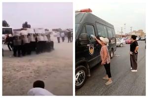 河北上千村民與警衝突 抗議拆遷賠償不公