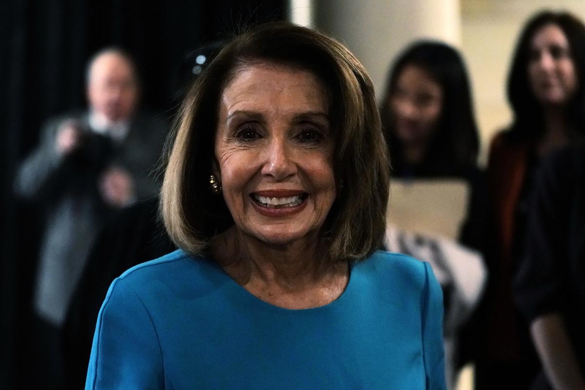 11月28日,美國眾議院少數黨領袖佩洛西獲眾院民主黨提名為眾議長。她有望於明年執掌眾議院。(Alex Wong/Getty Images)