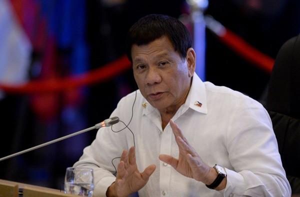 菲律賓總統杜特爾特(NOEL CELIS/AFP/Getty Images)
