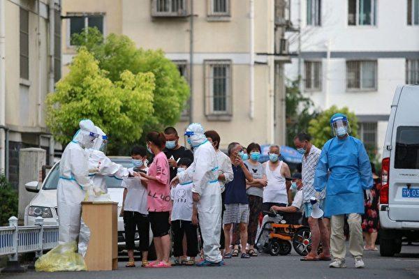 揚州檢測站擁擠混亂 一公職人員傳染23人