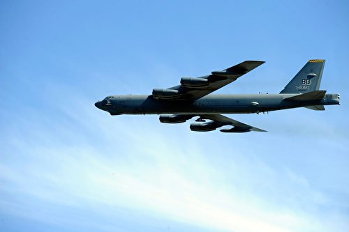 美軍B-52轟炸機。(Jason Smith/Getty Images)
