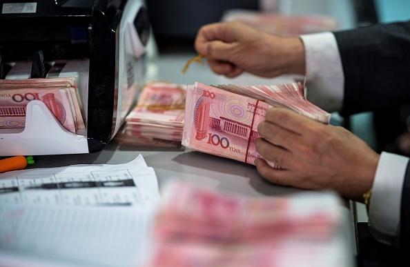 中國人民銀行高級官員3月18日表示,中國金融業的「灰犀牛」風險正在上升。(Johannes Eisele/AFP/Getty Images)