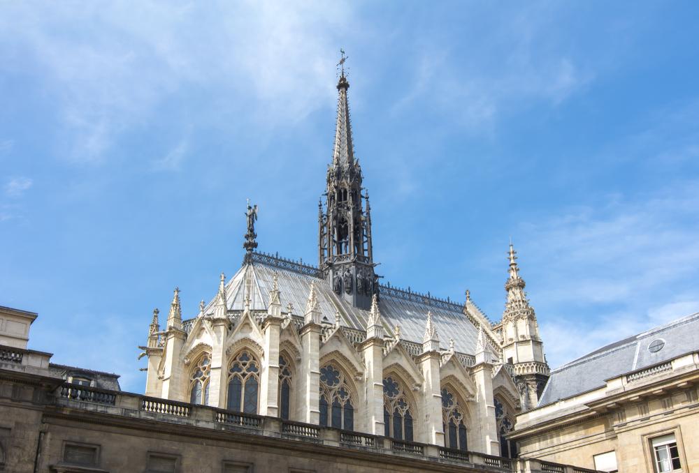 法國國王路易九世下令興建的聖禮拜堂。(Shutterstock)
