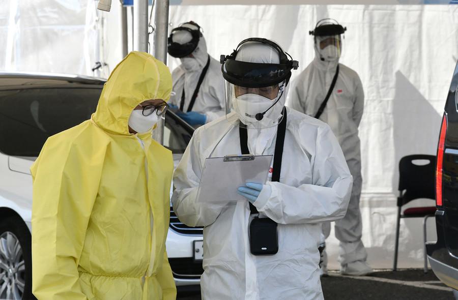 南韓中共肺炎增至5,621例 文在寅取消外訪