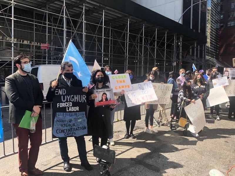 多個人權組織聯合國前譴責中共群體滅絕罪