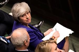 英議會拒絕無協議脫歐 週四或表決是否推遲
