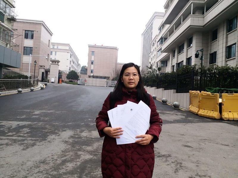 余文生律師被失蹤近一年 許豔奔波救夫