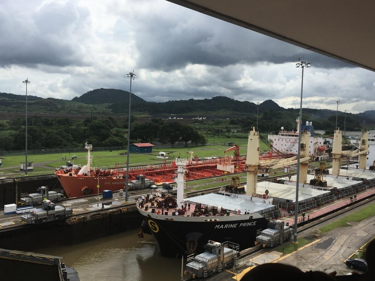 圖為巴拿馬運河。(大紀元)