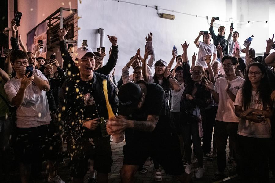 香港區選結果表明公眾對政治改革的渴望