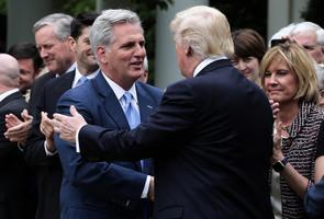 消息:特朗普1月28日在佛州會見眾院共和黨領袖