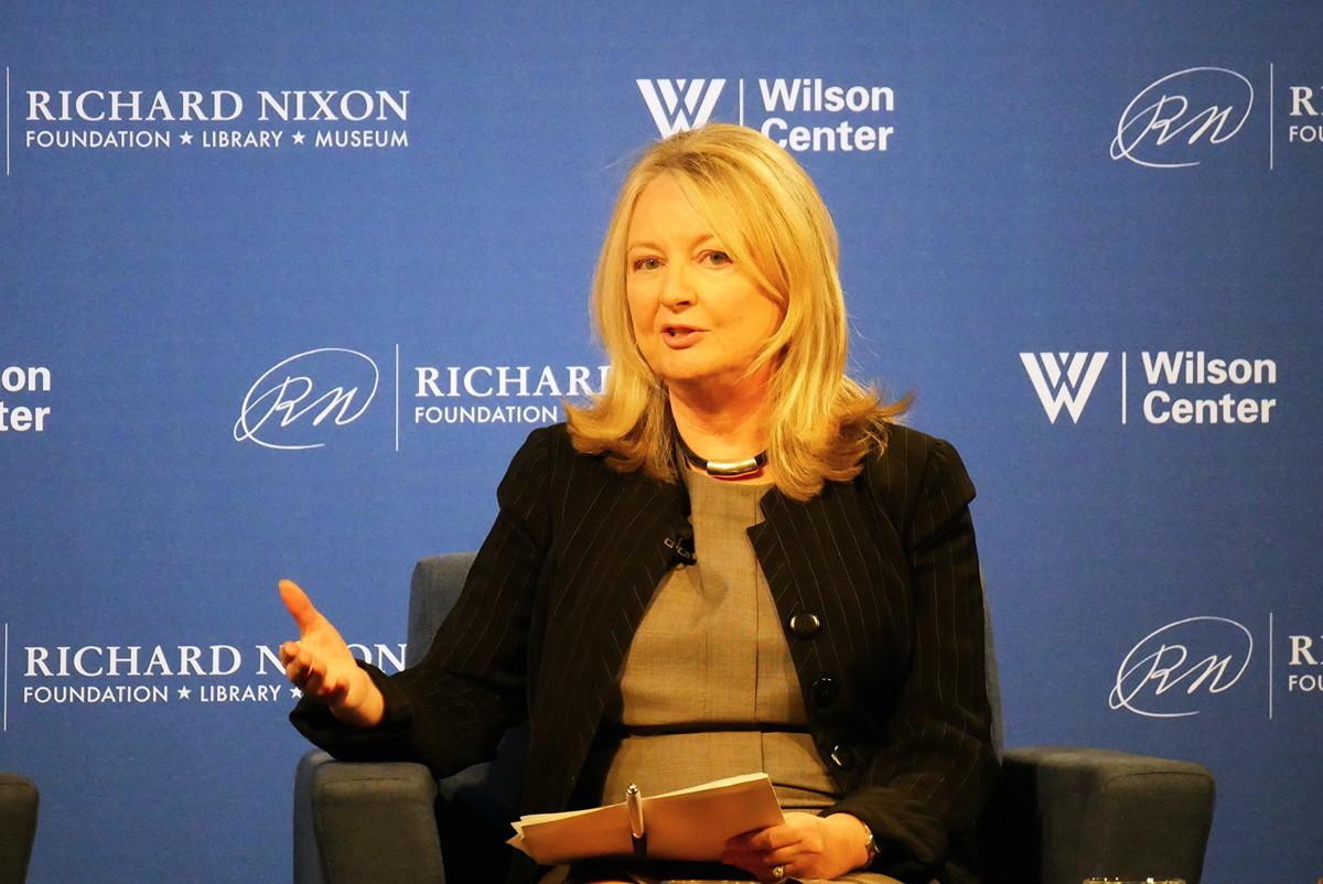 哈德遜研究所宗教自由中心主任西亞(Nina Shea)。(李辰/大紀元)