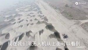 長江遭遇近百年罕見枯水期 支流見底如荒漠