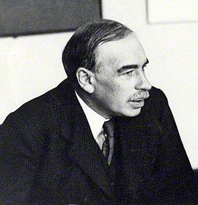 英國經濟學家約翰‧梅納德‧凱恩斯(John Maynard Keynes)。(公有領域)