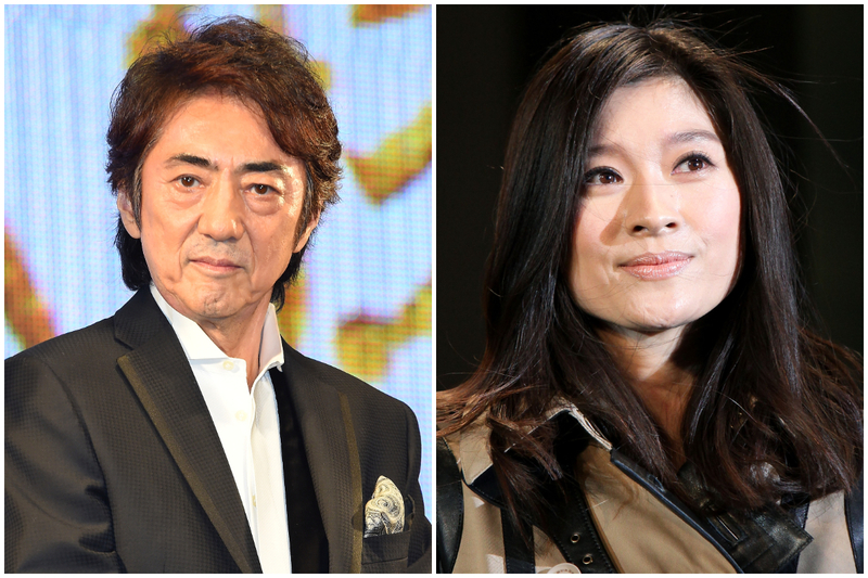 市村正親(左)與篠原涼子(右)資料照。( Koki Nagahama, Kiyoshi Ota/Getty Images/大紀元合成)