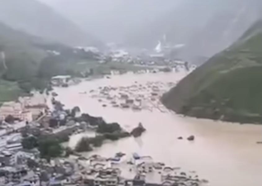 甘肅文縣突發泥石流等多種災害 民眾嘆絕望