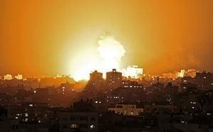 以色列回應哈瑪斯火箭攻擊 空襲命中130個目標