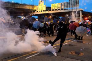 港鐵發起大罷工 外媒:香港運動進入新階段