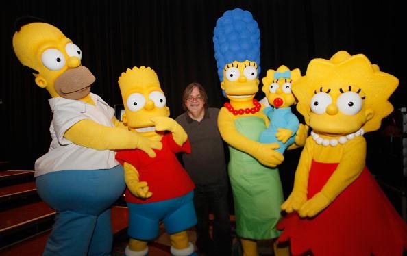 曾預言特朗普當選美國總統、伊波拉病毒爆發、高比拜仁墜機、上帝粒子等的《阿森一族》(The Simpsons)動畫片,因為動畫裏的情節不斷在現實當中上演,再次引發關注。(Michael Buckner/Getty Images for Fox)