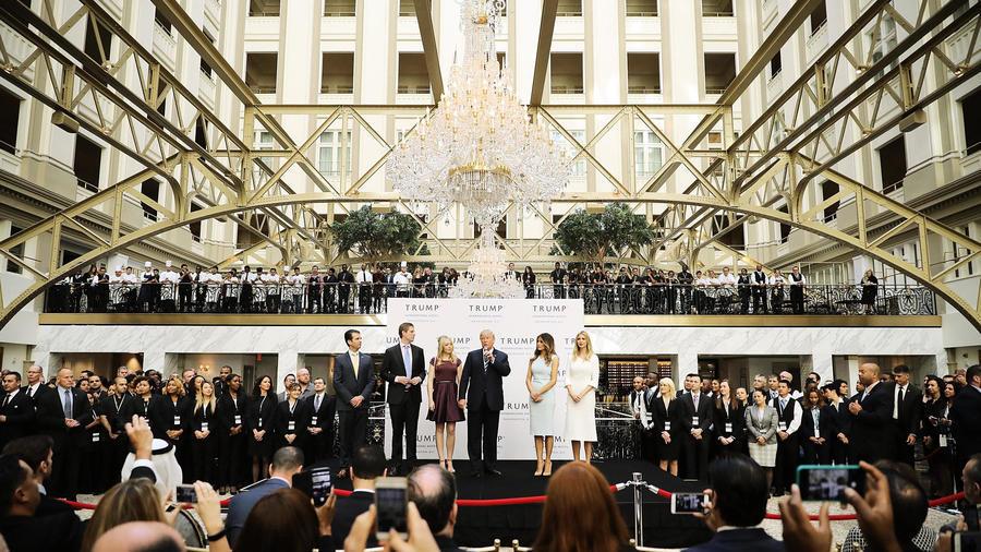 跟前幾任有何不同 特朗普就職典禮幾大亮點