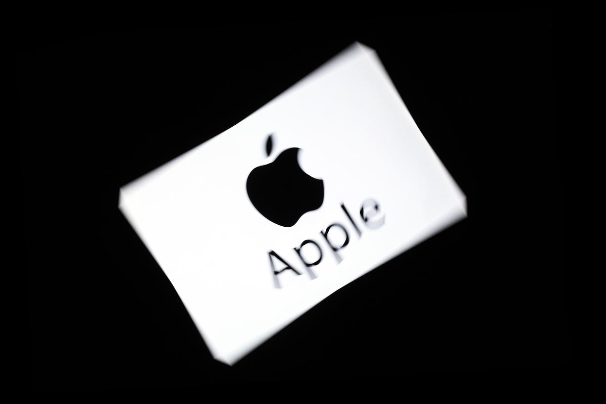 周一(4月1日),蘋果中國公司(Apple)和其它一些在中國的奢侈消費品牌降價。(LIONEL BONAVENTURE/AFP/Getty Images)
