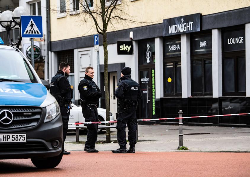 德國哈瑙連環槍殺案十一人死 疑犯自盡