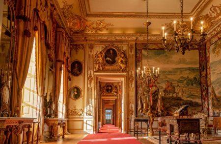 布倫海姆宮金碧輝煌的謁見廳(State Rooms)。(布倫海姆宮提供/Blenheim Palace)