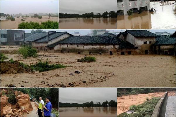 中國南方暴雨成災 至少61死14失蹤