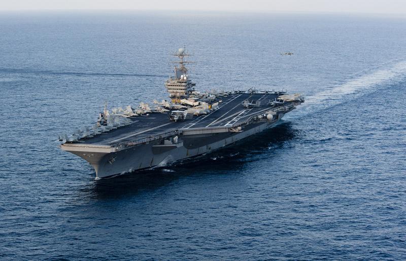 伊朗用航母模型演習?美軍:可應對海上威脅