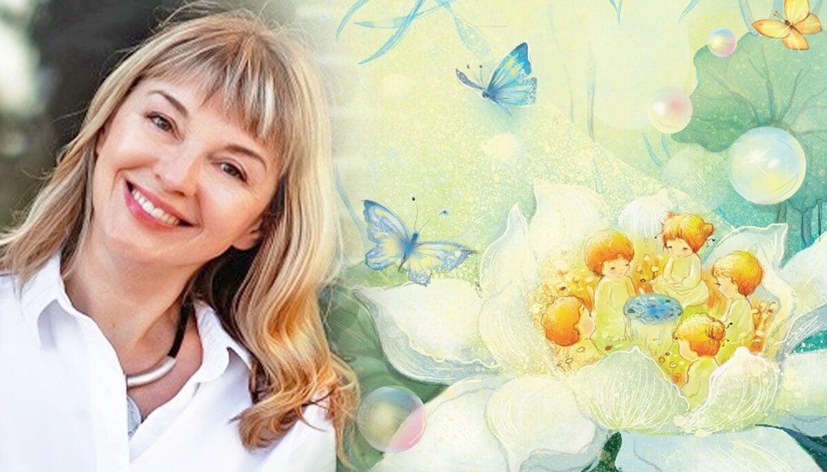 童話作者兼語言治療師柳德米拉‧奧勒爾(Lyudmila Orel)近期接受採訪,分享她最初為兒童創作的《蓮花的故事》(Lotus Fairy Tale)為何能引起成年人的共鳴和啟發各個年齡段的人們。(Armina Nimenko提供/大紀元合成)