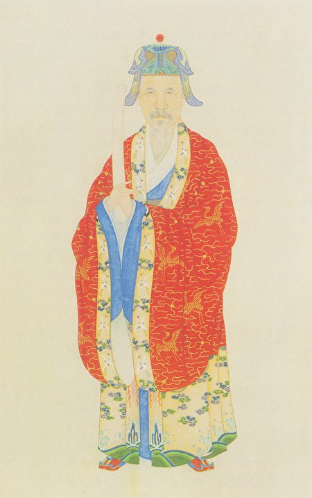 文天祥肖像,清代葉衍蘭繪。(公有領域)