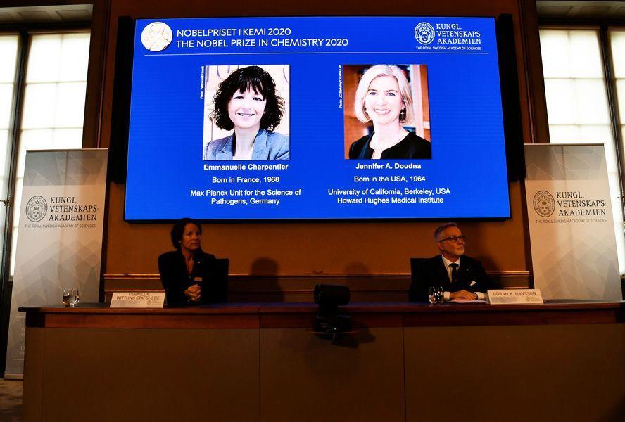 研究基因編輯 美法女科學家獲諾貝爾化學獎