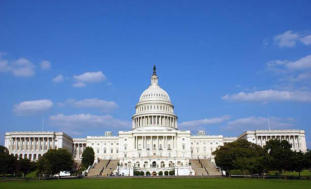 美國國會大廈。(Stefan Zaklin/Getty Images)