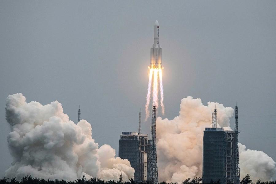 【最新】美軍證實長征5B火箭殘骸已墜落印度洋