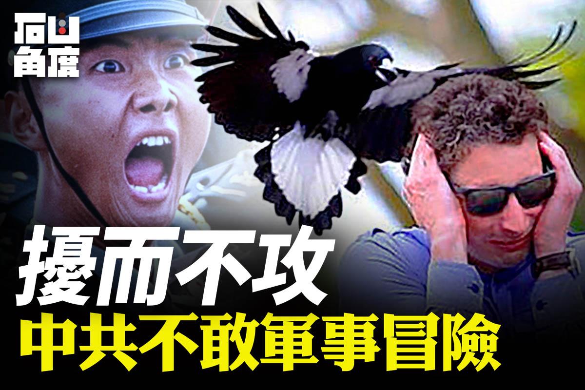 【有冇搞錯】最近美國政局混亂,全球疫情嚴重,中共加緊軍事騷擾台灣。但中共從來不敢冒險採取大型軍事行動,在沒有把握對付美國之前,對台灣會繼續擾而不攻。(大紀元香港新聞中心)