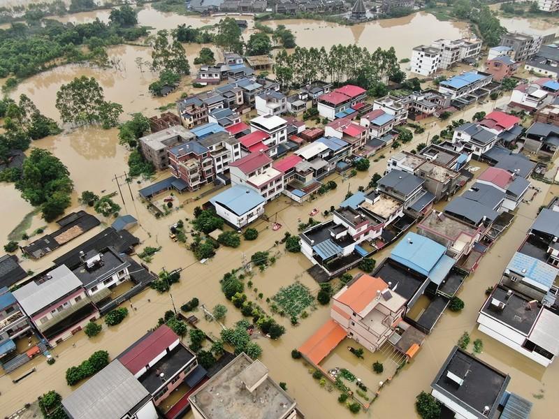 大陸377條河發超警洪水 未來還有多雨區
